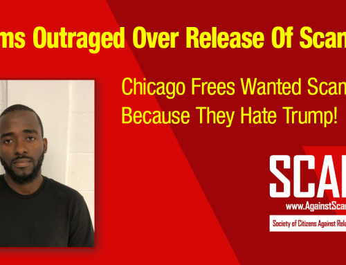 SCARS|RSN™ Scam News: Nigerian Scammer Freed By City Of Chicago Illinois!