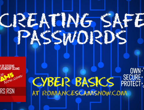 SCARS|RSN™ Cyber Basics: Creating A Safe Password