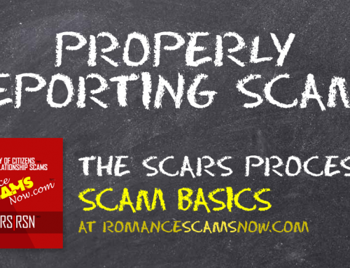 SCARS|RSN™ Scam Basics: The Proper Scam Reporting Process [Infographics]