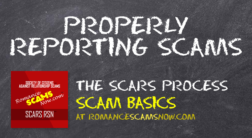 SCARS™ Scam Basics: The Proper Scam Reporting Process [Infographics] 1