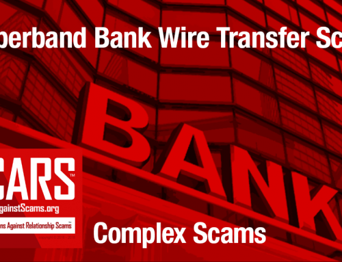 SCARS™ Special Report: Rubberband Bank Wire Transfer Scams [Infographic]