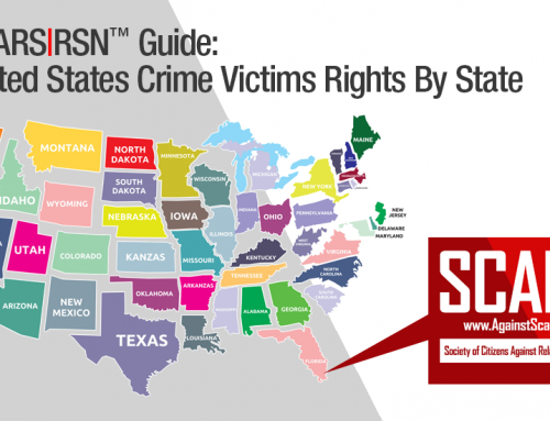SCARS™ Guide: United States Crime Victims Rights & Assistance By State [UPDATED]