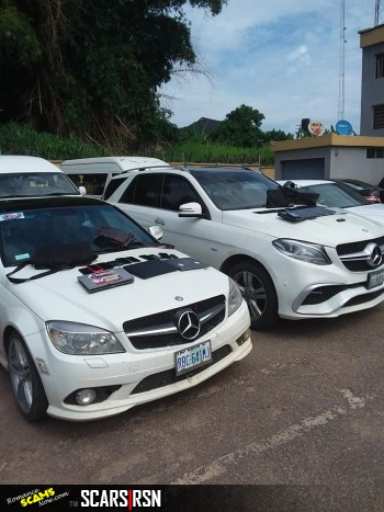 SCARS|RSN™ Scammer Gallery: Yahoo Boy's Cars Seized By The EFCC Nigeria 48