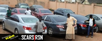 SCARS™ Scammer Gallery: Yahoo Boy's Cars Seized By The EFCC Nigeria 8