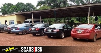SCARS|RSN™ Scammer Gallery: Yahoo Boy's Cars Seized By The EFCC Nigeria 6