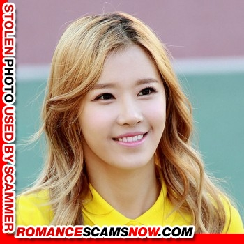 "K-Pop Band ""Crayon Pop's"" Ellin (real name Kim Min-Young): Have You Seen Her? Another Stolen Face / Stolen Identity 4"
