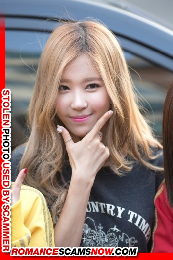"K-Pop Band ""Crayon Pop's"" Ellin (real name Kim Min-Young): Have You Seen Her? Another Stolen Face / Stolen Identity 21"