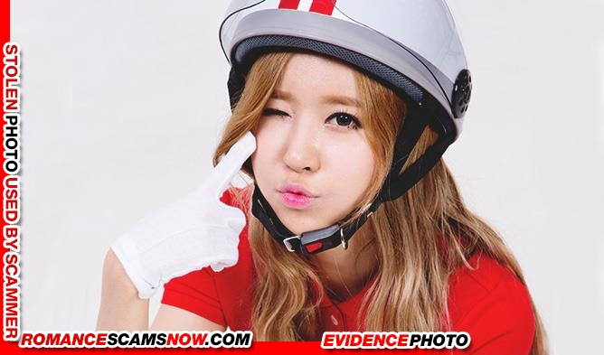 "K-Pop Band ""Crayon Pop's"" Ellin (real name Kim Min-Young): Have You Seen Her? Another Stolen Face / Stolen Identity 3"