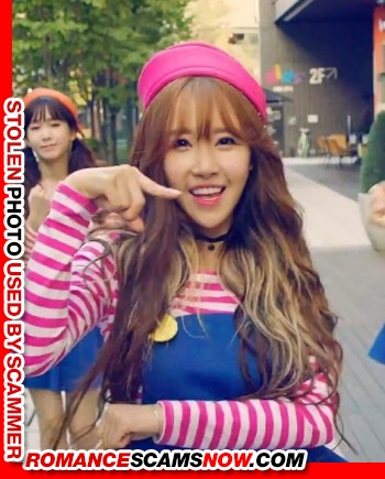"K-Pop Band ""Crayon Pop's"" Ellin (real name Kim Min-Young): Have You Seen Her? Another Stolen Face / Stolen Identity 5"
