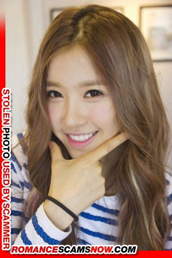 "K-Pop Band ""Crayon Pop's"" Ellin (real name Kim Min-Young): Have You Seen Her? Another Stolen Face / Stolen Identity 24"