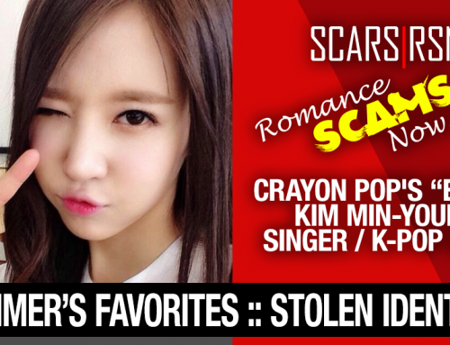 "K-Pop Band ""Crayon Pop's"" Ellin (real name Kim Min-Young): Have You Seen Her? Another Stolen Face / Stolen Identity"