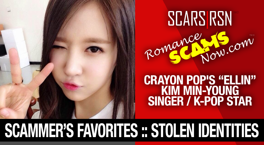 "K-Pop Band ""Crayon Pop's"" Ellin (real name Kim Min-Young): Have You Seen Her? Another Stolen Face / Stolen Identity 1"
