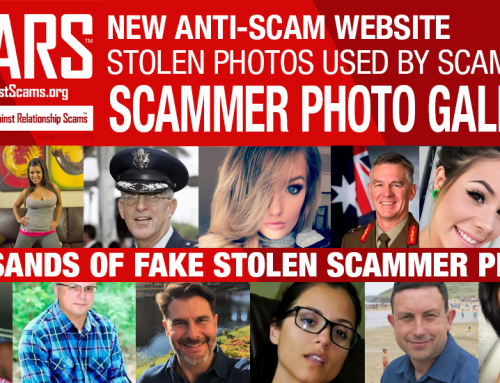 SCARS Launches New Scammer Photo Website: ScamsOnline.org