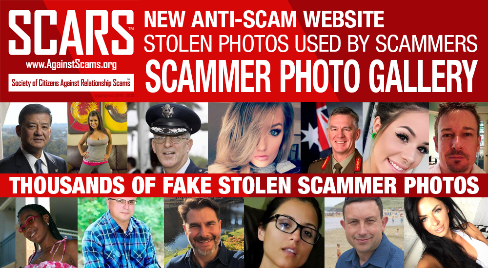 SCARS Launches New Scammer Photo Website: ScamsOnline.org 2