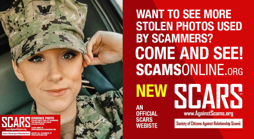 See More Stolen Photos User By Scammers on ScamsOnline.org
