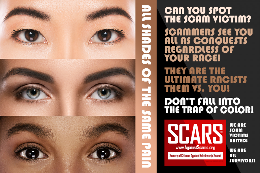 SCARS™ Editorial: Let's Talk About Black Vs. White In Scamming 8