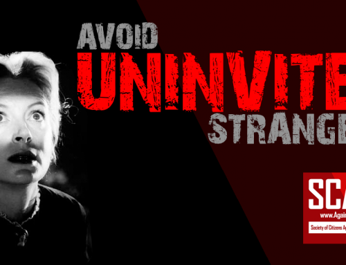 SCARS|EDUCATION™ Anti-Scam Tip: Uninvited Strangers