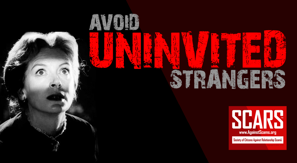 SCARS|RSN™ Anti-Scam Tip: Uninvited Strangers 5