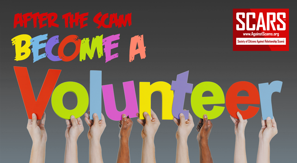 SCARS|RSN™ Scam Victims' Recovery: Volunteering 5