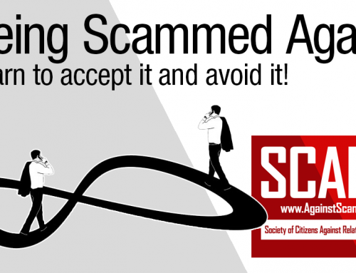 SCARS™ Editorial: Commentary On Being Scammed Again