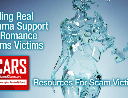 SCARS|EDUCATION™ Victims' Assistance: Finding Real Trauma Support For Romance Scams Victims