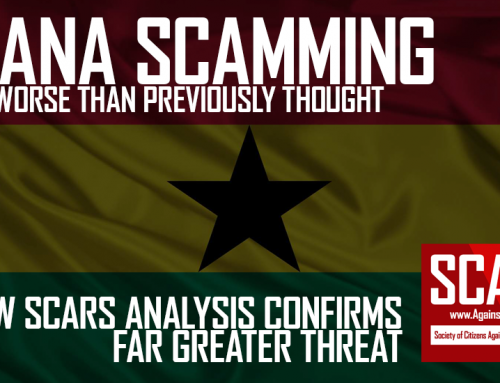 SCARS|EDUCATION™ Special Report: Ghana Scam Revelation [Videos]