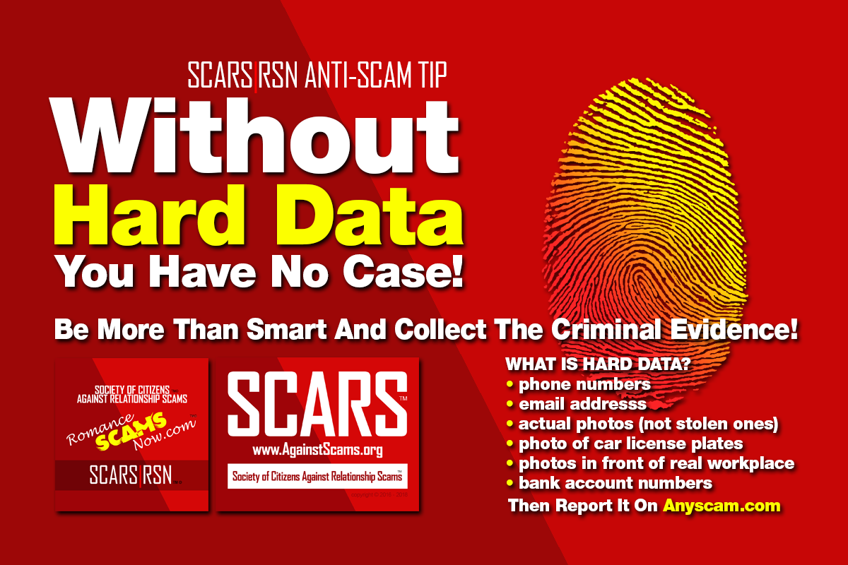 Hard Data - SCARS|RSN™ Anti-Scam Poster 8