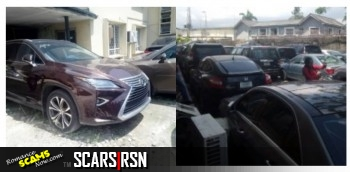 SCARS™ Scammer Gallery: Yahoo Boy's Cars Seized By The EFCC Nigeria 12