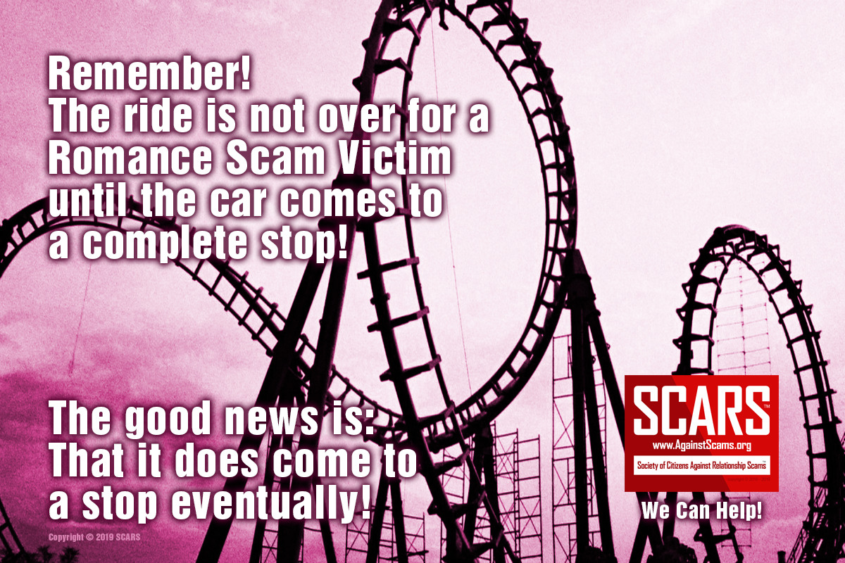Hang On, The Ride Is Not Over - SCARS|RSN™ Anti-Scam Poster 6