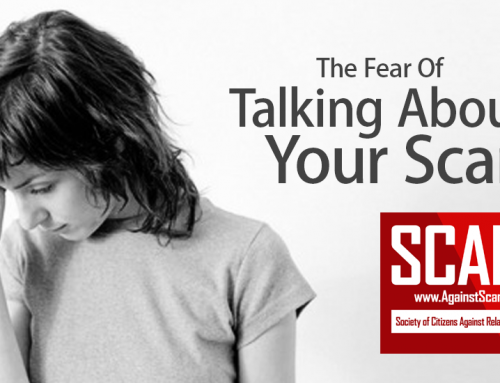 SCARS|RSN™ Psychology Of Scams: Why Keeping Your Scam Secret Harms You And Everyone Else!