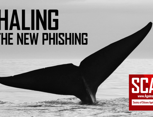 SCARS|EDUCATION™ Guide: There Is A New Kind Of Phishing Called Whaling Scam Attacks
