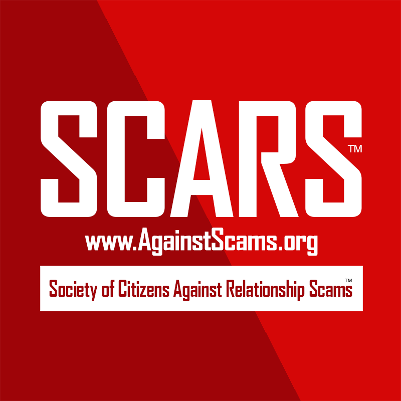 SCARS Official Romance Scams NOW Website Logo