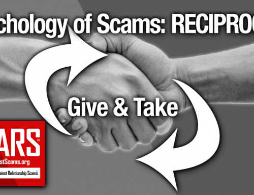 SCARS™ Psychology of Scams: Reciprocity Rule & Scams