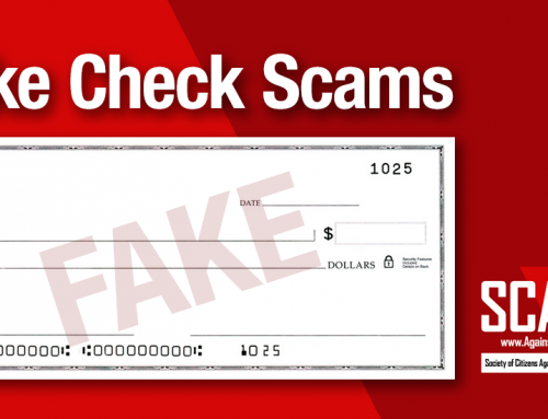 SCARS|EDUCATION™ Special Report: Fake Checks Scams