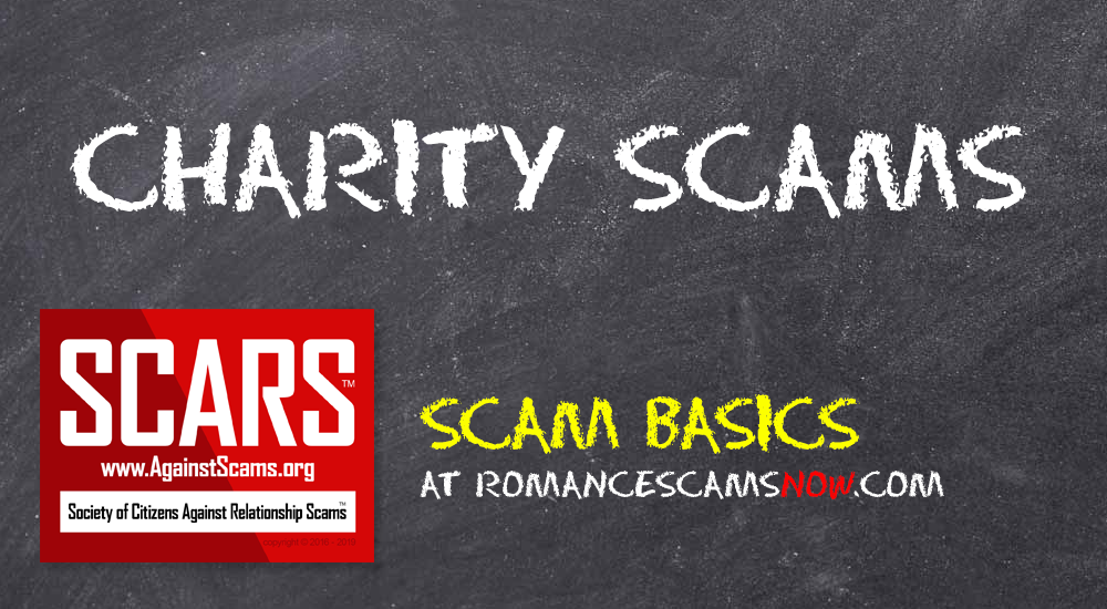 SCARS™ Special Report: Charity Fraud 1