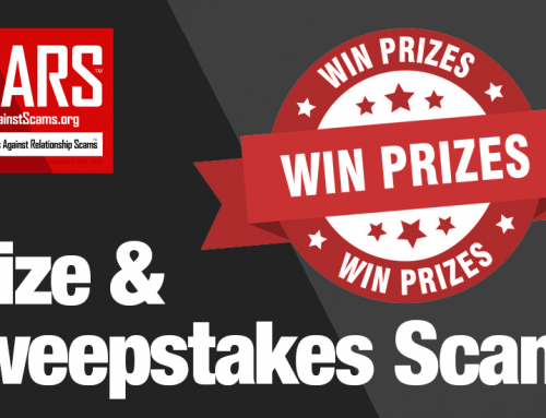 SCARS™ Special Report: Prize & Sweepstakes Scams