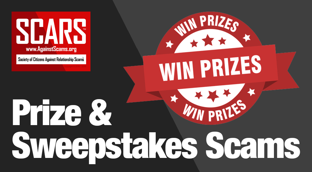 SCARS™ Special Report: Prize & Sweepstakes Scams 1