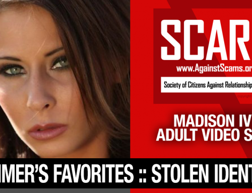 Madison Ivy: Have You Seen Her? Another Stolen Face / Stolen Identity