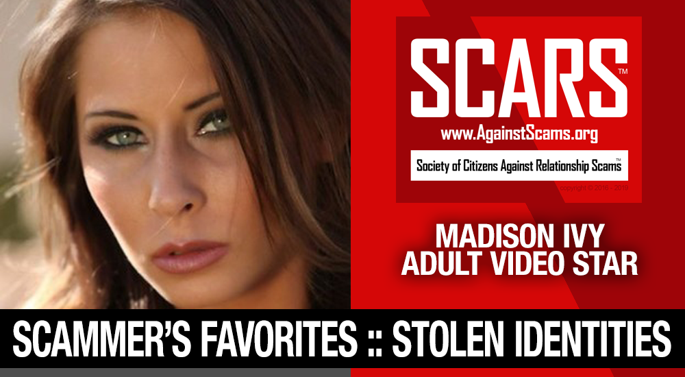 Madison Ivy: Have You Seen Her? Another Stolen Face / Stolen Identity 1