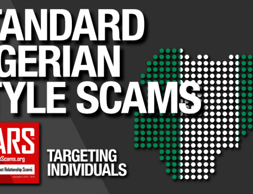 SCARS™ Guide: Standard Nigerian Scams & Online Fraud