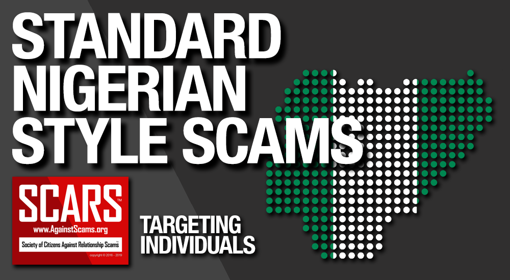 SCARS™ Guide: Standard Nigerian Scams & Online Fraud 1