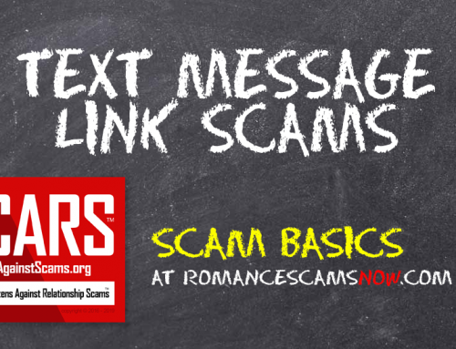 SCARS™ Scam Basics: Don't Click Links In Unknown Text Messages! Ever!