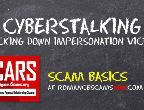 SCARS™ Scam Basics: Cyberstalking