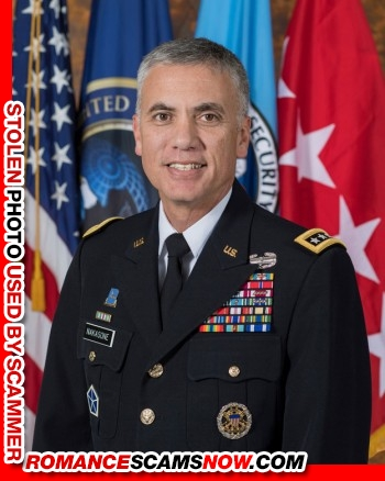 General Paul Nakasone - Do You Know Him? Another Stolen Face / Stolen Identity 12