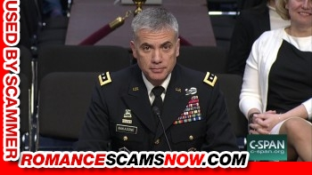 General Paul Nakasone - Do You Know Him? Another Stolen Face / Stolen Identity 6