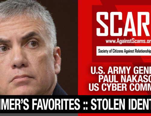 General Paul Nakasone – Do You Know Him? Another Stolen Face / Stolen Identity