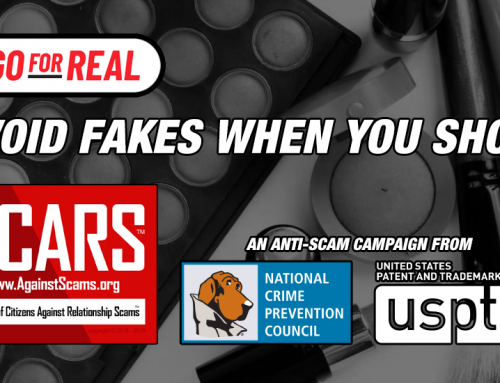 SCARS™ Crime Prevention Campaign: Avoid Fakes!
