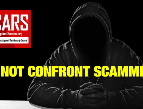 SCARS™ Anti-Scam Tip: Confrontation & The Scammer Dodge