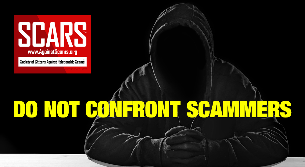 SCARS™ Anti-Scam Tip: Confrontation & The Scammer Dodge 13