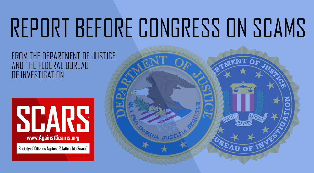 SCARS™ Special Report: FBI Report To The U.S. Congress On Scams 1